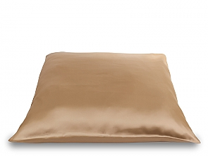 PILLOW SECRET SATIN NATUREL GOLD/BEIGE